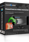 mediAvatar PowerPoint to Video Converter Personal