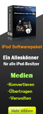 mediAvatar iPod Softwarepaket